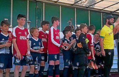 Samedi, la grande fête du football organisé par l'Entente sportive de la Mignonne a rassemblé 800 jeunes joueurs sur la pelouse...