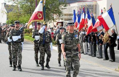 Gendarmerie. 119 élèves présentés au drapeau..