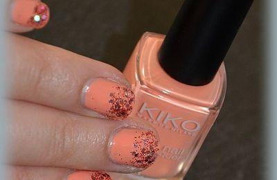 Kiko 359 - Light Peach et ses paillettes