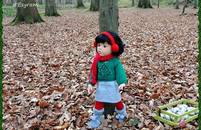 Emma Li, petit lutin de la forêt