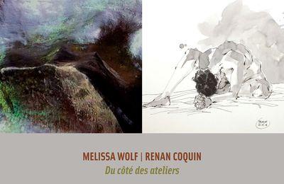 PROCHAINE EXPOSITION SYNOPTIQUES A EXCIDEUIL: MELISSA WOLF ET RENAN COQUIN DU 3 AU 24 SEPEMBRE 2017