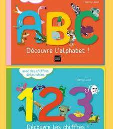 A.B.C. Découvre l'alphabet !  et 1.2.3. ! Découvre les chiffres !