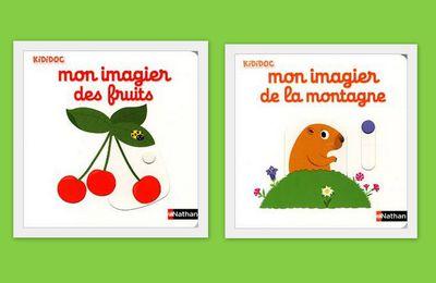 Mon imagier des fruits et mon imagier de la montagne.