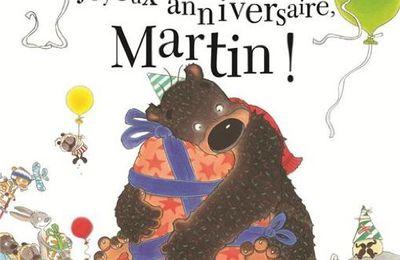 Joyeux anniversaire, Martin !