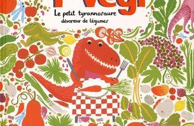 T-Végi : Le petit tyronnosaure dévoreur de légumes