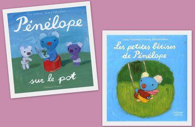 Pénélope sur le pot et Les petites bêtises de Pénélope