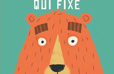 L'ours qui fixe.