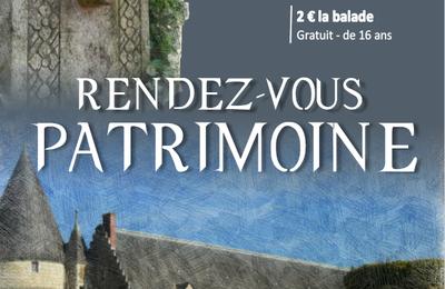 Rendez-vous Patrimoine à Seiches sur le Loir : du Verger à Bré
