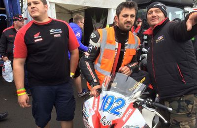 Ulster GP : humeur de Julien Toniutti, pilote Optimark Road Racing