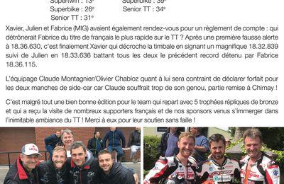Newsletter du team Optimark Road Racing
