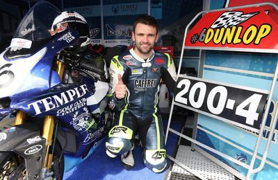 Ulster GP : William Dunlop forfait en superbike et superstock.
