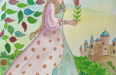 Encore une princesse au jardin