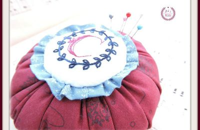 Monogram Pin Cushion