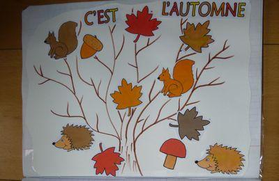 "Collage ""C'est l'automne"""