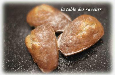 Madeleines moelleuses à la vanille