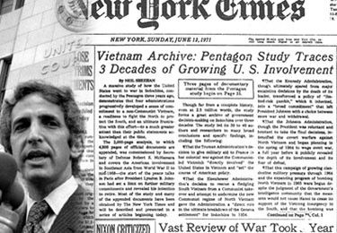 Des pentagon papers à WikiLeaks