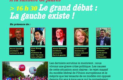 Le Grand débat politique à Lézan