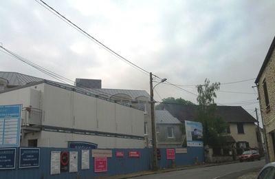 Construction non conforme au Permis de construire rue Pr Mariller à St-Rémy l'Honoré