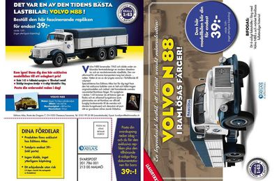 Séries scandinaves: Collection Volvo Trucks 1.1 - Editions Atlas