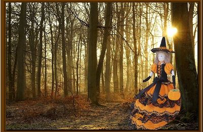 Halloween: balade en forêt