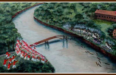 Le combat de Conjocta Creek 3 août 1814