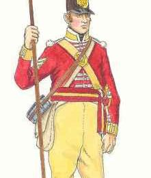 "Le 3rd ( Kent ) Regiment of Foot ""The Buffs"" dans la guerre de 1812"
