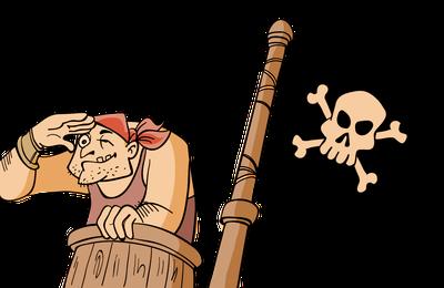 Voilà les (dangereux) pirates !