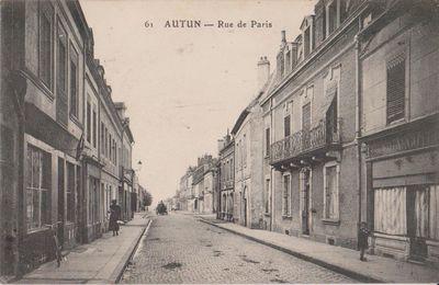 Quartier Marchaux : la rue de Paris.
