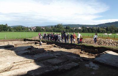 Quartier Saint-Andoche : la Genetoye, 2012 à 2017 - les fouilles. Autour du Temple de Janus.