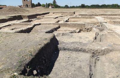 Quartier Saint-Andoche : la Genetoye, 2012 à 2017 - les fouilles. Autour du Temple de Janus. (2e partie)