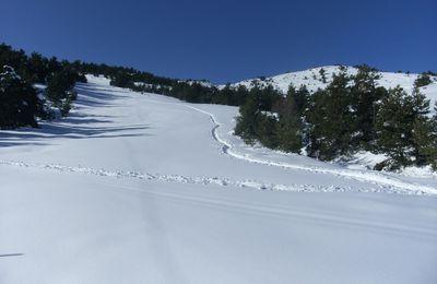 Tour du domaine skiable de Gréolières