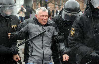 La répréssion se durcit en Biélorussie