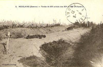 Le monument aux Charentais de Moislains