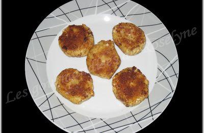 Croquettes de poisson au gingembre et aux épices