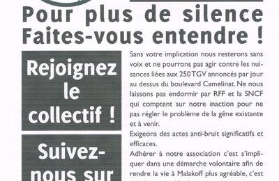 Bruit TGV: faites- vous entendre!