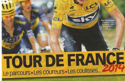 Le Tour de France à la télé, mon feuilleton préféré...