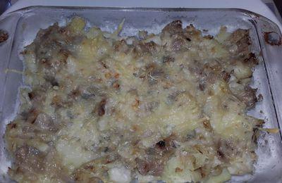 Gratin de poisson et pommes de terre