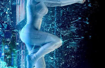 Superbe affiche pour Ghost in the shell