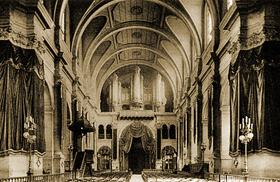 Inauguration de l'orgue de Saint François Xavier (1879)