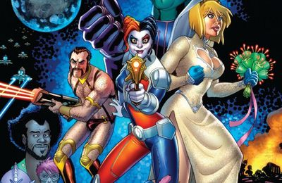 Mon Impression : Harley Quinn et Power Girl