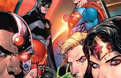 Mon Impression : Justice League Rebirth #1