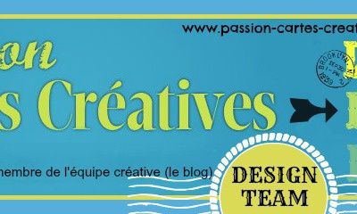 DT du Blog Passion Cartes Créatives