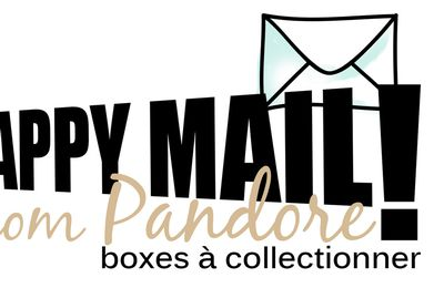 Candy blog : happy mail, les papiers de Pandore