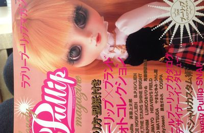 Pullip lovely magazine