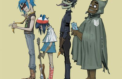 ALBUM REVIEWS - GORILLAZ - 1/3 - Introduction et 1er Album