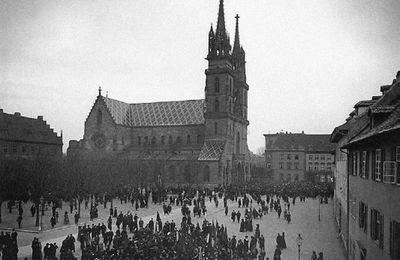Discours de Jaurès contre la guerre au Congrès de Bâle, 1912