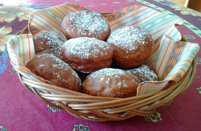 Sufganiyot (beignets d'Hanukkah)