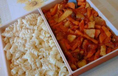 Bento curry de carotte-topinambour