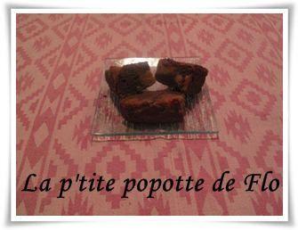Brownies chocolat / beurre de cacahuète