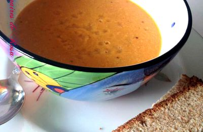 Bisque de saumon